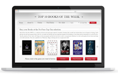 TOP TEN BOOKS OF THE WEEK
